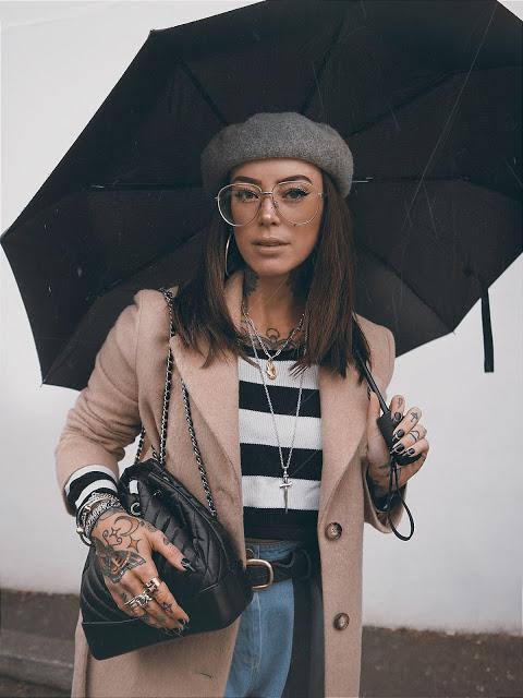 Stripes in the Rain